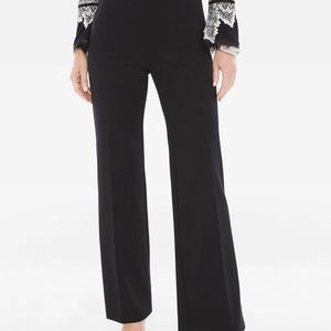 New With Tags Chico's Wide Leg Ponte Trouser